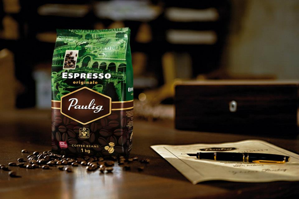 Paulig arabica dark кофе в зернах 1 кг