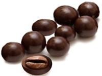 Зерна кофе в шоколаде