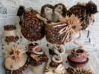Поделки из кофе в зернах