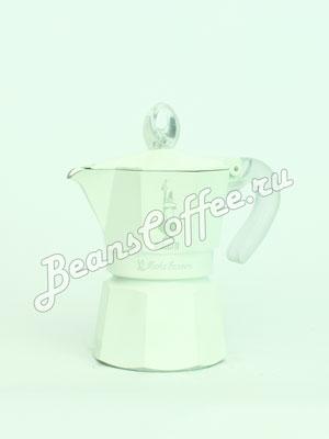 Гейзерная кофеварка Bialetti Moka Glossy White 3 порции (120 мл)