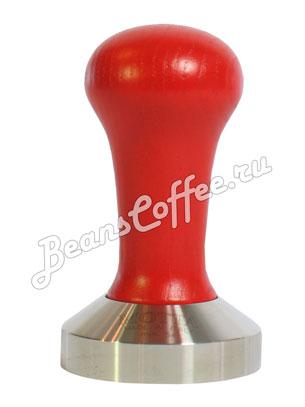 Темпер Мотта, ручка дерево красная, 54 мм (8140/R)