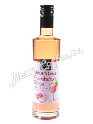 Сироп Moulin de Valdonne Малина и Роза 0,25 л