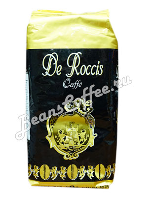 Кофе De Roccis Extra в зернах 1 кг