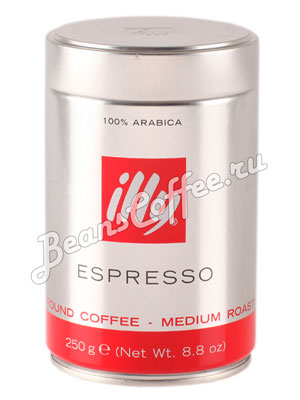 Кофе Illy молотый Espresso Coffee Medium