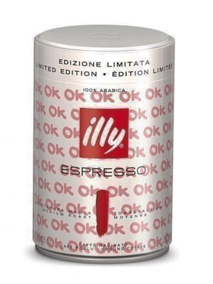 Кофе Illy молотый Espresso Coffee Medium Art Collection 250 гр