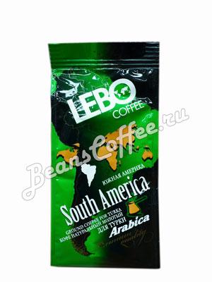 Кофе Lebo молотый Южная Америка для турки 100 гр