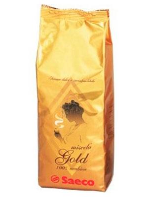 Кофе Saeco в зернах Gold 1кг