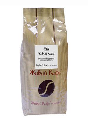 Живой кофе в зернах Колумбия Богота 1 кг