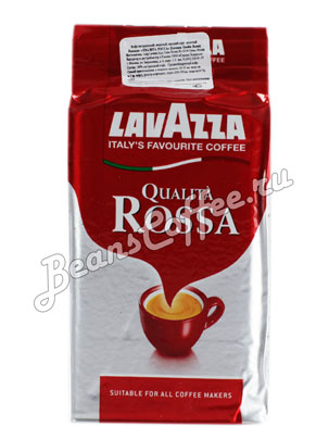 Кофе Lavazza молотый Qualita Rossa 250 гр в.у.