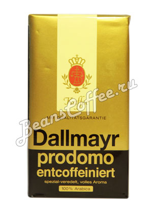 Кофе Dallmayr молотый Prodomo Без кофеина 250 гр