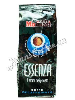 Кофе Molinari молотый Essenza Deca