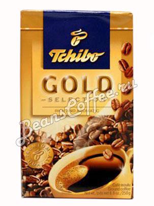 Кофе Tchibo молотый Gold Selection 250 гр