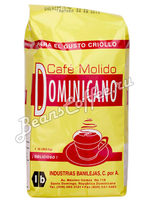 Santa Domingo Dominikano Молотый 454 гр
