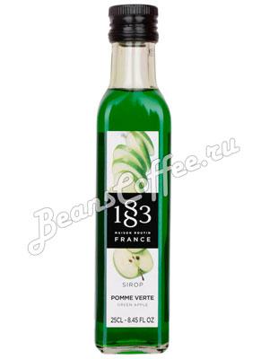 Сироп Philibert Routin 1883 Зеленое яблоко 0,25 л