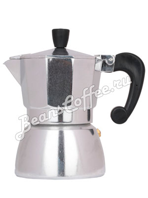 Гейзерная кофеварка Hot Алюминиевая 3 порции (120 мл)