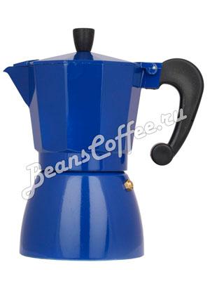 Гейзерная кофеварка Hot Синяя 6 порций (240 мл)
