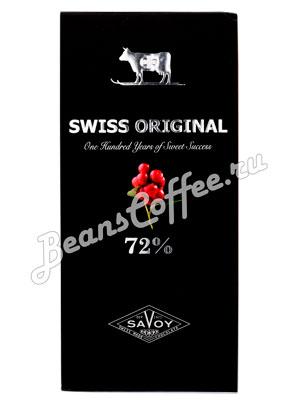 Шоколад Swiss Original Горький с клюквой 100гр