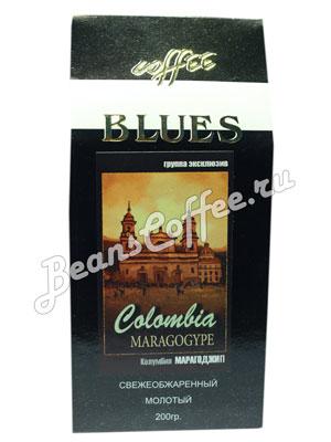Кофе Blues молотый Colombia Maragogype 200 гр