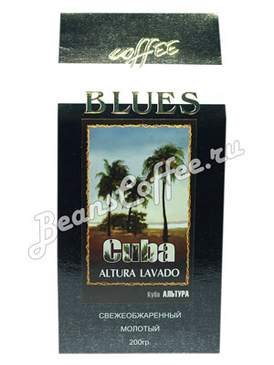 Кофе Blues молотый Cuba Altura Lavado 200 гр