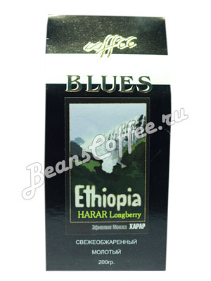 Кофе Blues молотый Ethiopia Harar 200 гр