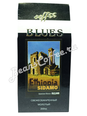 Кофе Blues молотый Ethiopia Sidamo 200 гр