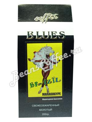 Кофе Blues молотый Brazil Maragogype 200 гр