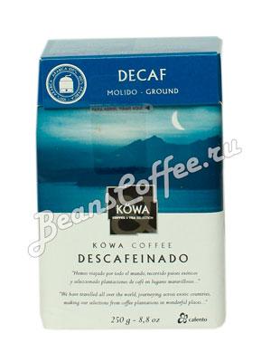 Кофе Montecelio Descafeinado молотый 250 гр