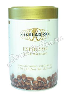 Кофе Miscela d`Oro молотый Espresso Caffe Macinato