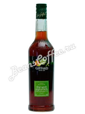 Сироп Giffard Чай зеленый с цитрусом