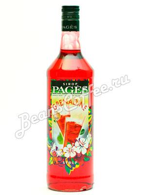 Сироп Pages Гренадин 1 литр