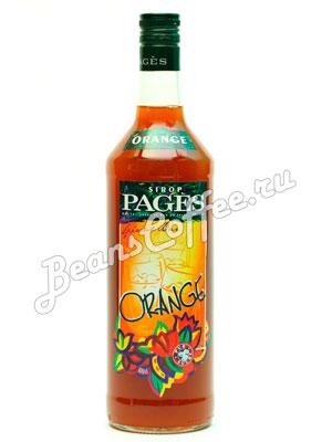 Сироп Pages Апельсин 1 литр