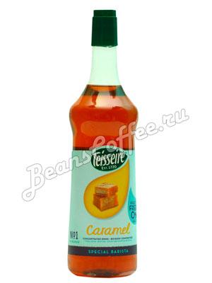 Сироп Teisseire Карамель без сахара 1 л п/б