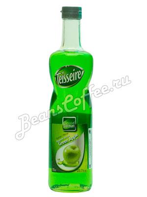 Сироп Teisseire Зеленое яблоко 700 мл ст/б