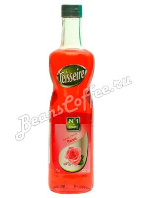 Сироп Teisseire Роза 700 мл ст/б