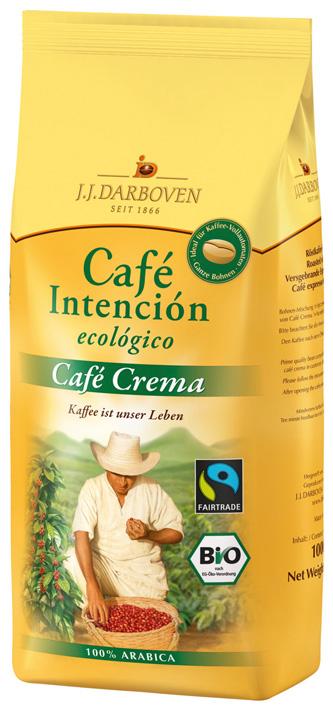 Кофе Darboven в зернах Caffe Intencion Ecologico Crema 1кг