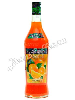Сироп Vedrenne Апельсин