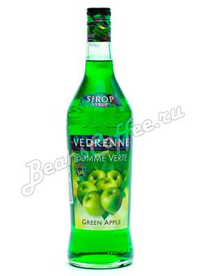 Сироп Vedrenne Зеленое Яблоко