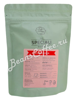 Кофе Diemme в зернах Gli Speciali Nicaragua Coffee Origin 200 гр