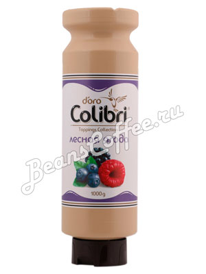 Топпинг Colibri D'oro Лесная ягода 1 кг