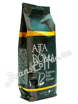 Кофе Alta Roma в зернах Oro