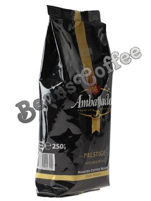 Кофе Ambassador в зернах Prestige 250 гр