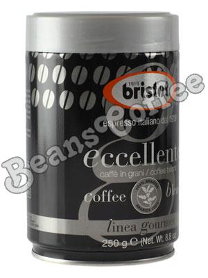 Кофе Bristot в зернах Eccellente 250 гр