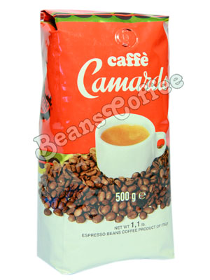 Кофе Camardo в зернах Crema
