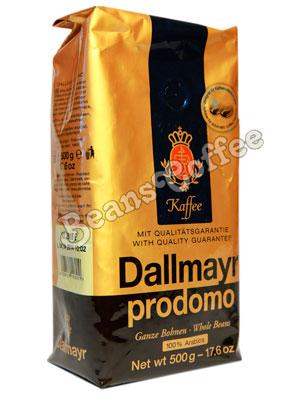 Кофе Dallmayr в зернах Prodomo