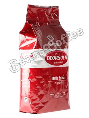 Кофе Deorsola в зернах Matic Extra 1кг
