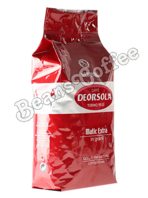 Кофе Deorsola (Деорсола) в зернах Matic Extra