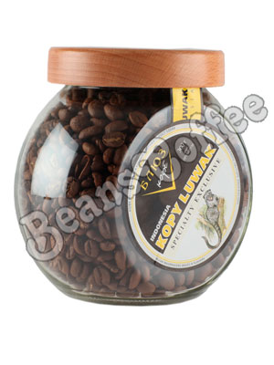 Кофе Kopi Luwak в зернах 300 гр (ст.б.)