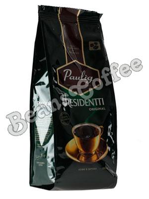 Кофе Paulig (Паулиг) Presidentti Original в зёрнах 250г