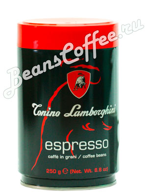 Кофе Tonino Lamborghini в зернах Espresso ж.б. 250 гр