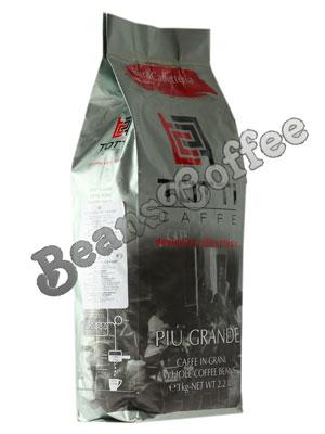 Кофе Totti в зернах Piu Grande